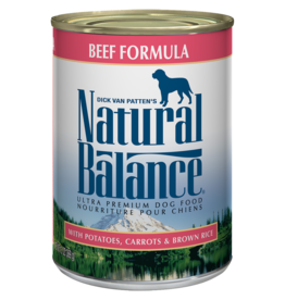 Natural Balance Dog Ultra Beef Pate - Whole Grain 13oz