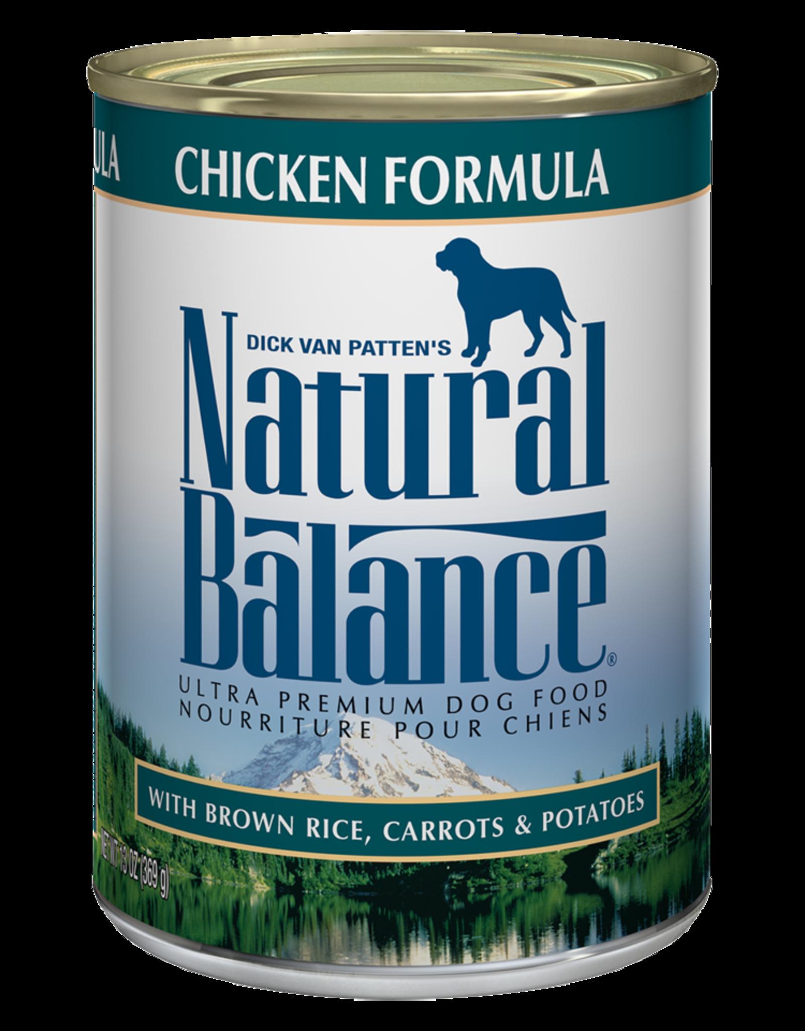 Natural Balance Dog Ultra Chicken Pate - Whole Grain 6oz
