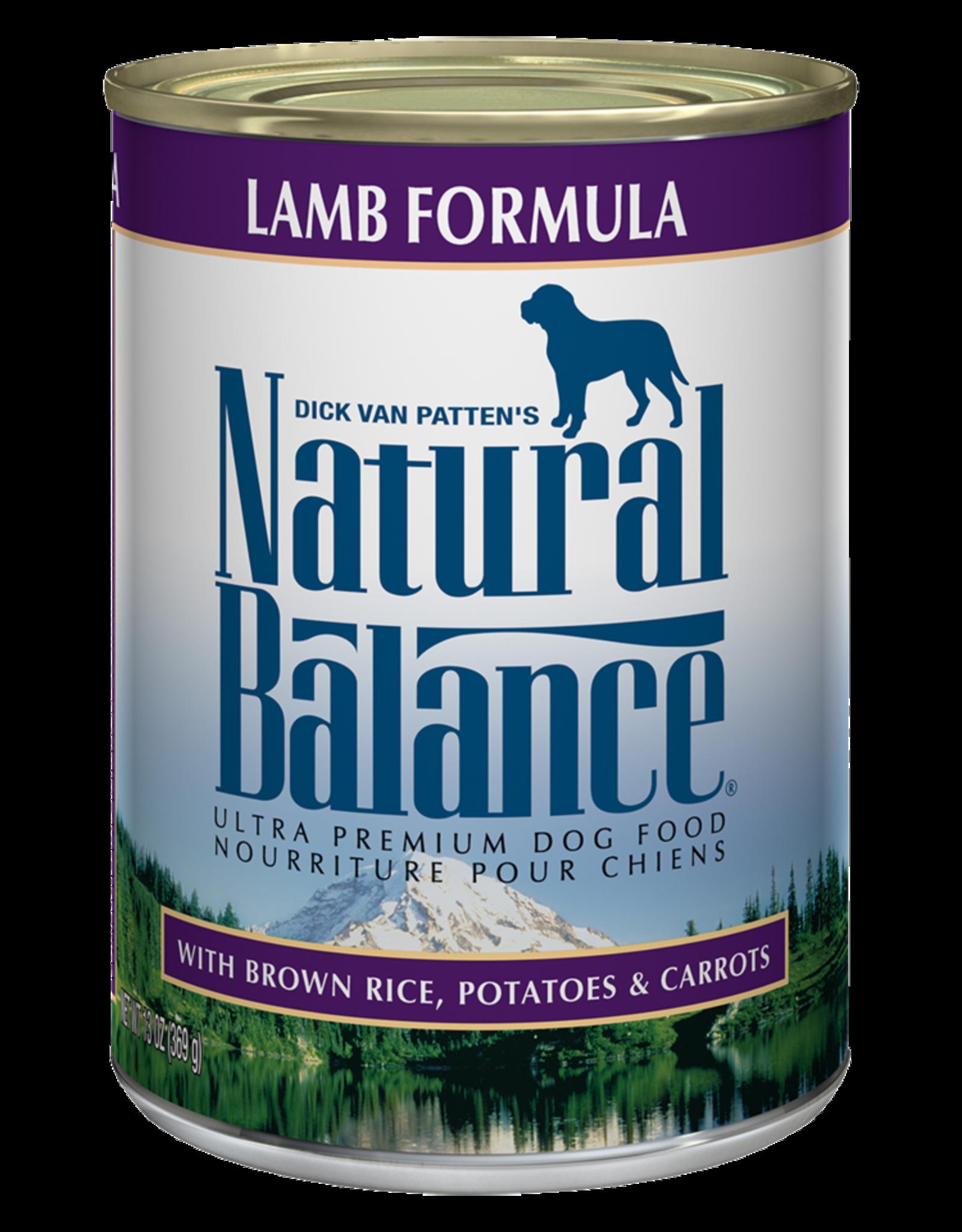 Natural Balance Dog Ultra Lamb Pate - Whole Grain 6oz