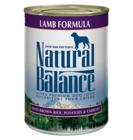 Natural Balance Dog Ultra Lamb Pate - Whole Grain 6oz
