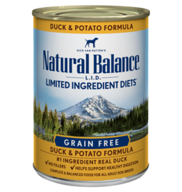 Natural Balance Dog L.I.D. Duck & Potato Pate - Grain-Free 6oz