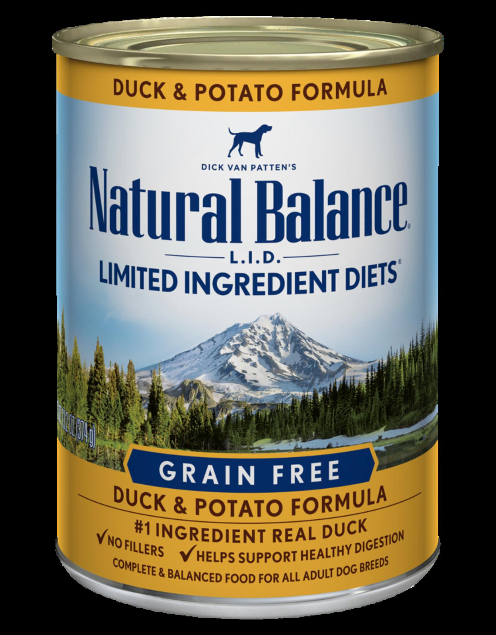 Natural Balance Dog L.I.D. Duck & Potato Pate - Grain-Free 13oz