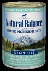 Natural Balance Dog L.I.D. Chicken & Sweet Potato Pate - Grain-Free 6oz