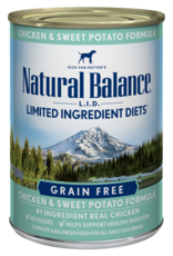 Natural Balance Dog L.I.D. Chicken & Sweet Potato Pate - Grain-Free 13oz