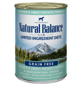 Natural Balance Dog L.I.D. Chicken & Sweet Potato Pate - Grain-Free 13oz