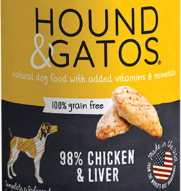 Hound & Gatos Dog Chicken & Liver Pate - Grain-Free 13oz