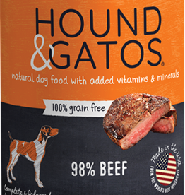 Hound & Gatos Dog Beef Pate - Grain-Free 13oz