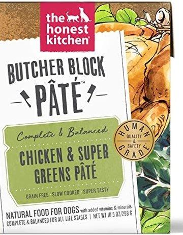 The Honest Kitchen Dog Chicken & Super Greens Pate - Grain-Free 10.5oz
