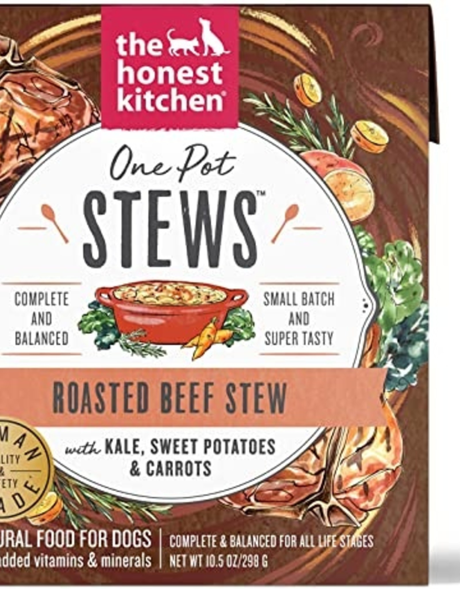 The Honest Kitchen Dog Beef & Sweet Potato Stew - Grain-Free 10.5oz