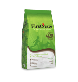 FirstMate Pet Food Dog Lamb & Oats - Whole Grain 25lb