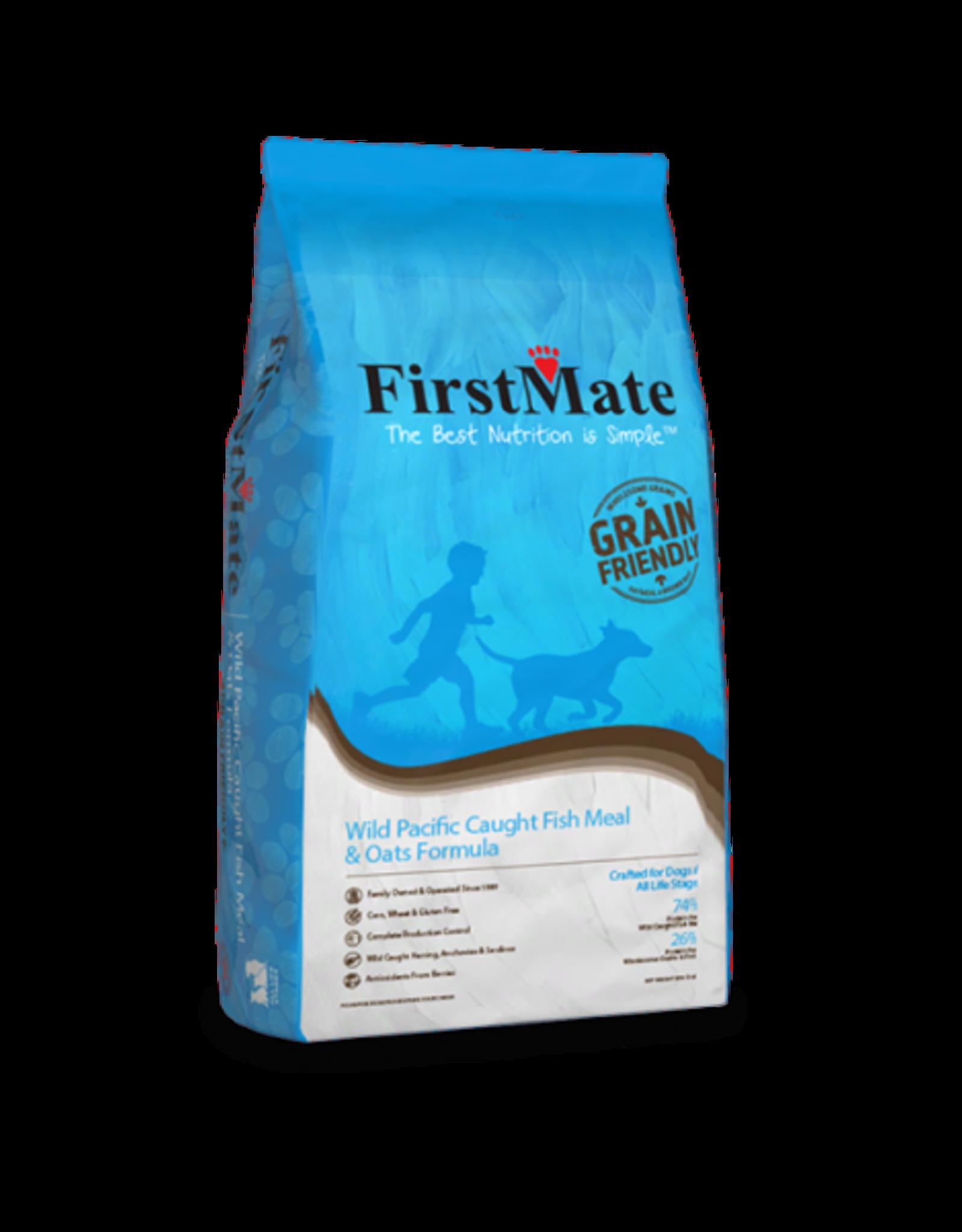 FirstMate Pet Food Dog Fish & Oats - Whole Grain 5lb