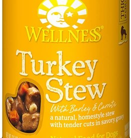 Wellness Pet Food Dog Turkey Stew - Whole Grain 12oz