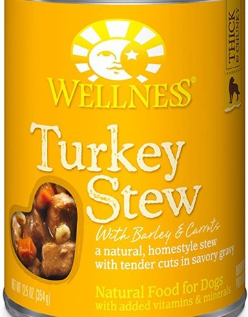 Wellness Pet Food Dog Turkey Stew - Whole Grain 12oz