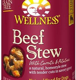 Wellness Pet Food Dog Beef Stew - Grain-Free 12oz
