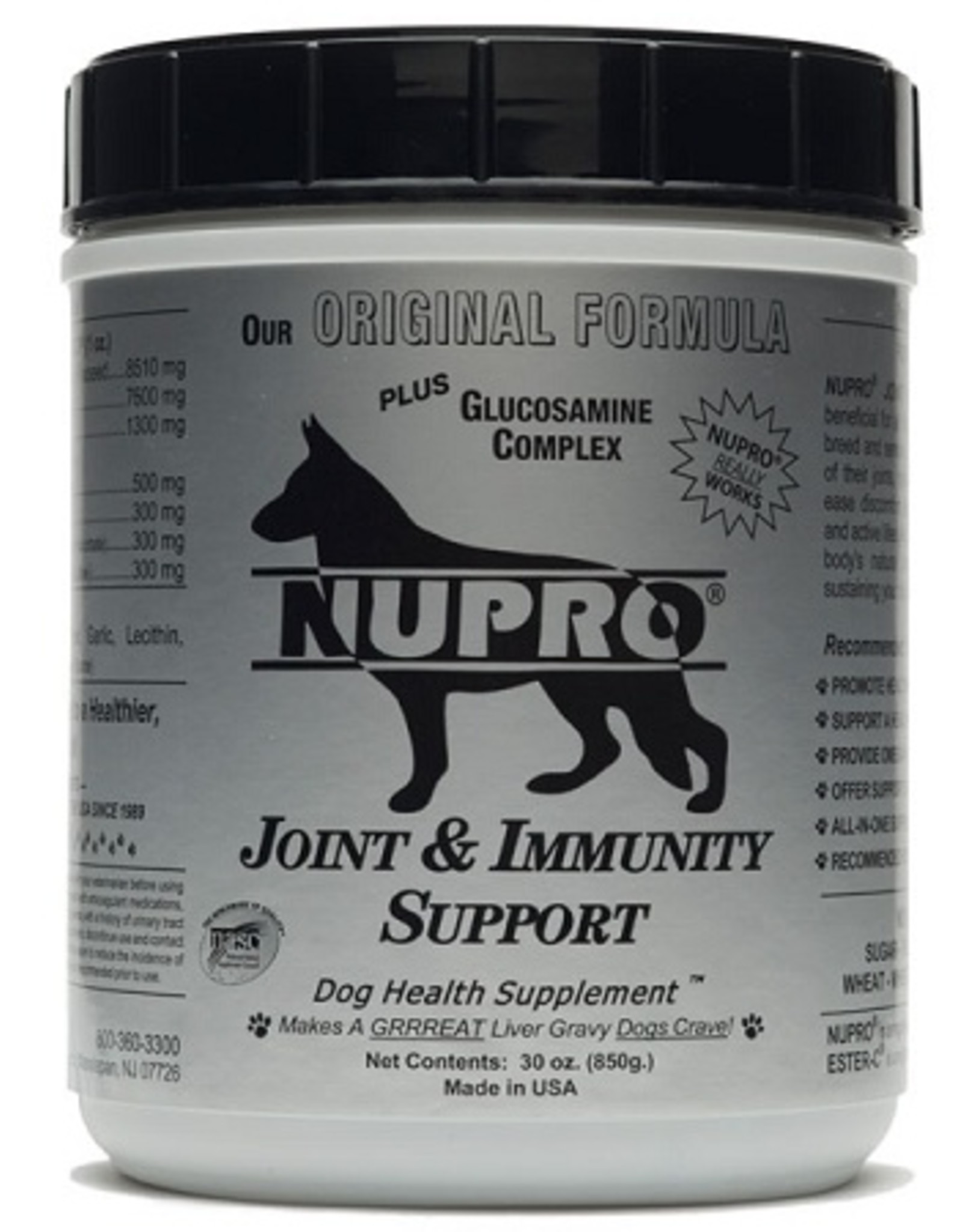 NUPRO Supplements Joint & Immunity Support 30oz