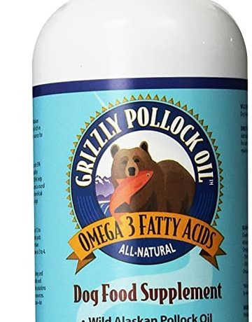 Grizzly Pet Products Pollock Oil 16oz