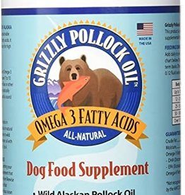 Grizzly Pet Products Pollock Oil 32oz