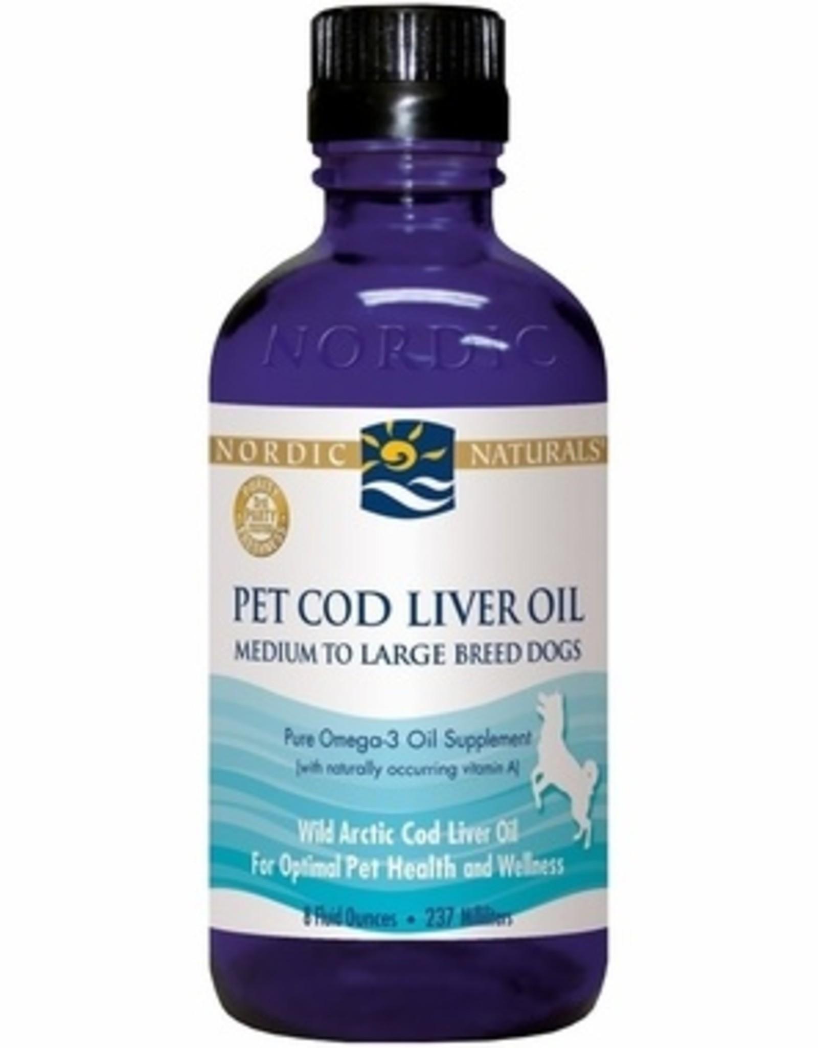 Nordic Naturals Cod Liver Oil 8oz