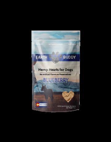 Earth Buddy Hemp Hearts Blueberry - 30ct