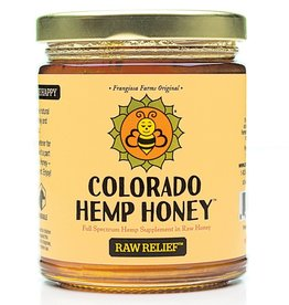 Colorado Hemp Honey Raw Relief Jar - 12oz