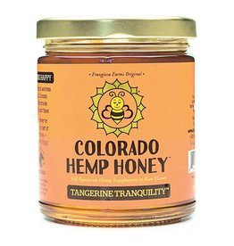 Colorado Hemp Honey Tangerine Tranquility Jar - 6oz