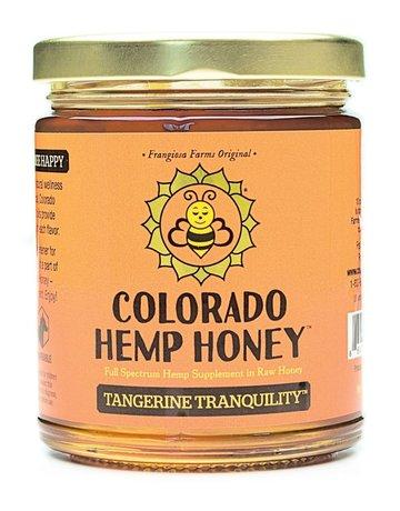 Colorado Hemp Honey Tangerine Tranquility Jar - 6oz