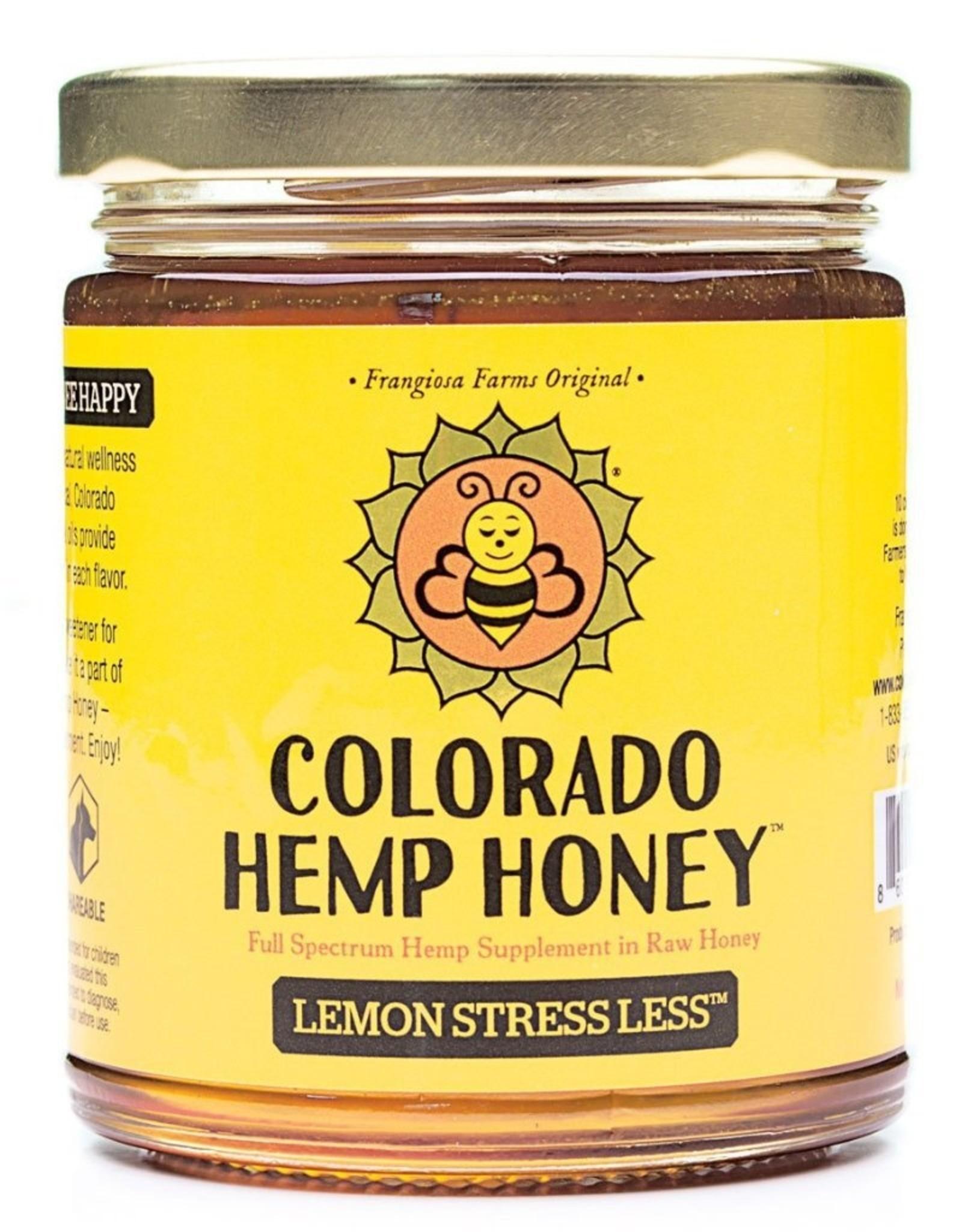 Colorado Hemp Honey Lemon Stress Less Jar - 6oz
