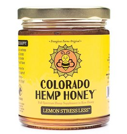 Colorado Hemp Honey Lemon Stress Less Jar - 6oz