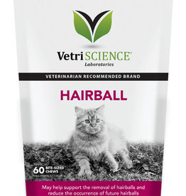 VetriSCIENCE Hairball Cat Chew - 60ct