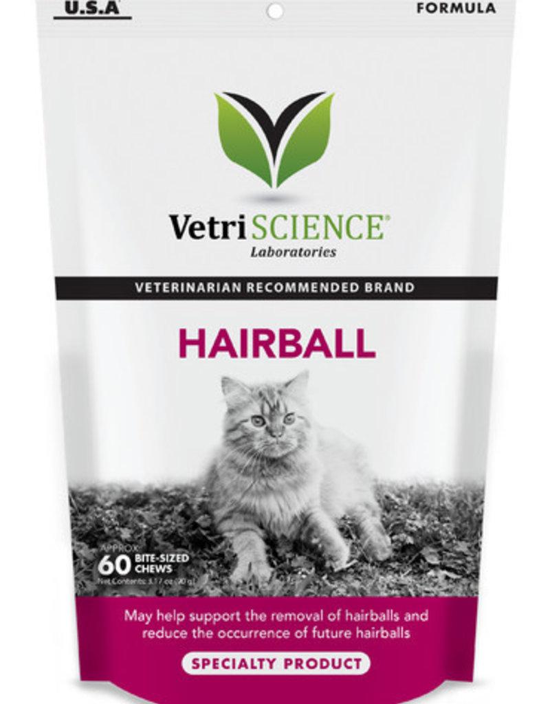 VetriSCIENCE Hairball Cat Chew - 60ct