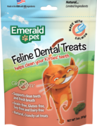 Emerald Pet Feline Dental Treats - Salmon 3oz