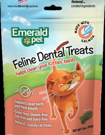 Emerald Pet Feline Salmon Dental Treats
