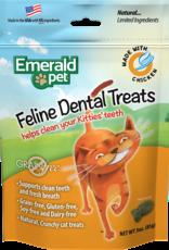 Emerald Pet Feline Dental Treats - Chicken 3oz