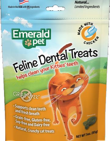 Emerald Pet Feline Chicken Dental Treats