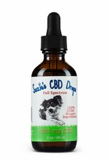 Suzie's Pet Treats Full Spectrum CBD Oil 1000mg 2oz
