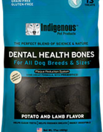 Indigenous Pet Products Dental Bones Lamb & Potato 17oz