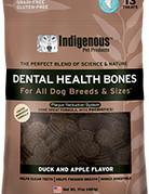Indigenous Pet Products Canine Dental Bones Duck & Apple