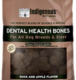 Indigenous Pet Products Dental Bones Duck & Apple 17oz