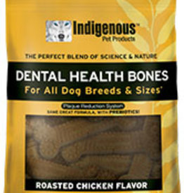 Indigenous Pet Products Dental Bones Chicken 17oz