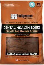 Indigenous Pet Products Dental Bones Carrot & Pumpkin 17oz
