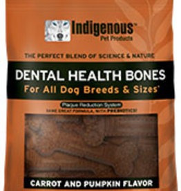 Indigenous Pet Products Dental Bones Carrot & Pumpkin 17oz