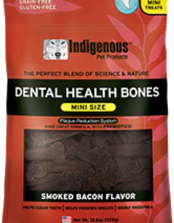 Indigenous Pet Products Canine Mini Dental Bones Smoked Bacon