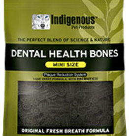 Indigenous Pet Products Mini Dental Bones Fresh Breath 13oz
