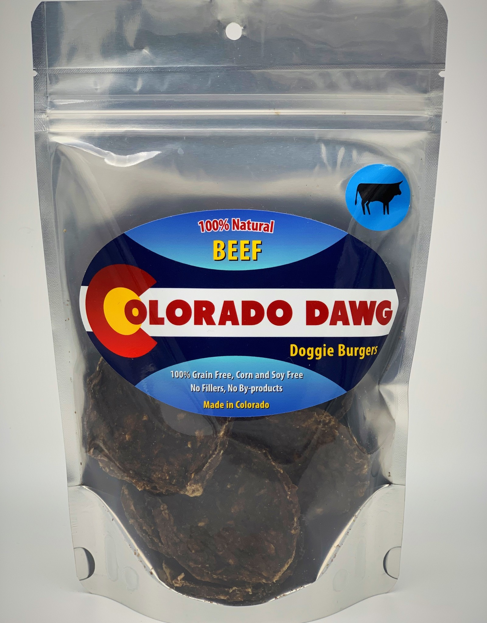 Colorado Dawg Beef Doggie Burger - 4oz