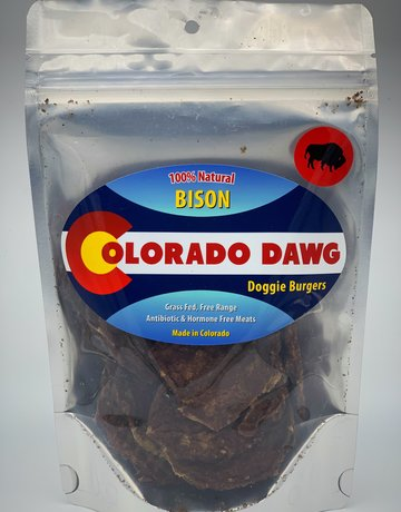 Colorado Dawg Bison Doggie Burger - 4oz