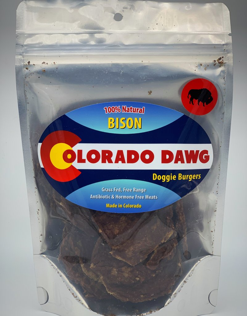 Colorado Dawg Canine Bison Doggie Burger