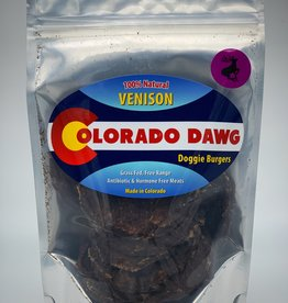 Colorado Dawg Venison Doggie Burger - 4oz