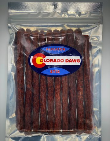 Colorado Dawg Alligator Jerky Stix - 6oz