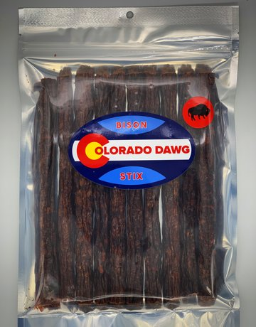 Colorado Dawg Bison Jerky Stix - 6oz