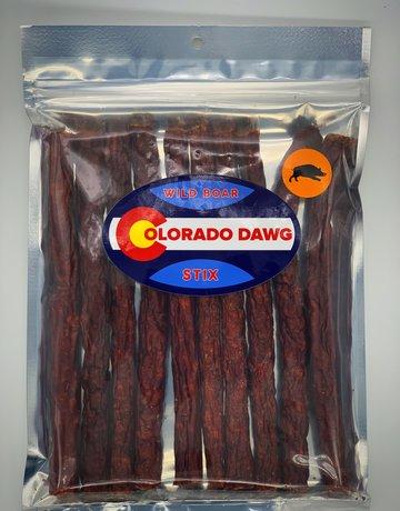 Colorado Dawg Canine Wild Boar Jerky Stix